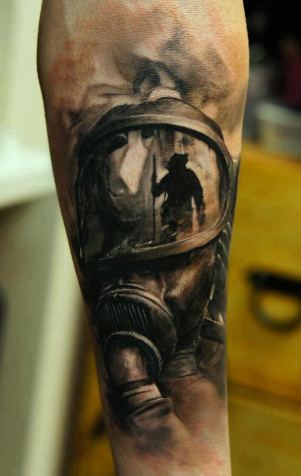 Tattoo of the Day is by Domantas Parvanais