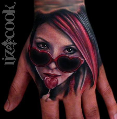 Tattoo of the Day by Liz Cook Tattooer