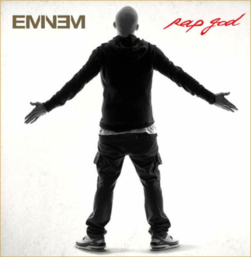 Eminem, Rap God, The Marshall Mathers LP 2,