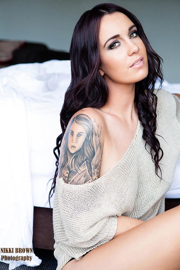 Ally Fitzgerald, australia, inked, model